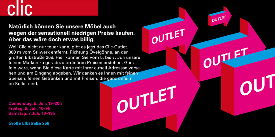 Outlet Broschüre